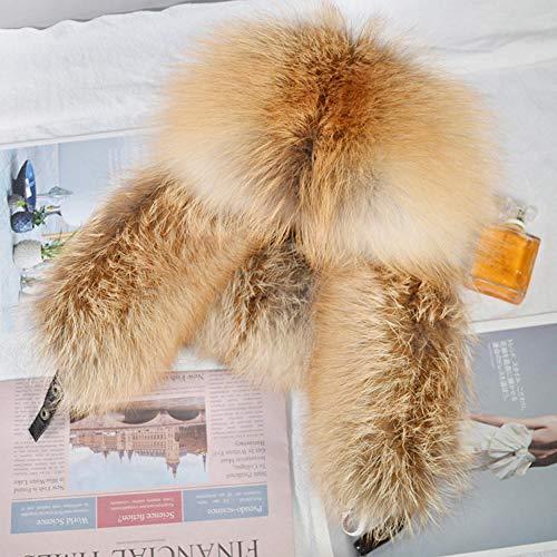 QIANWEIXI Ushanka Hombre Hombres A Prueba De Viento Al Aire Libre Invierno Fox Bombers Sombreros Gorra Hombre Cálido Al Aire Libre Ciclismo Esquí Protector Sombrero De Equitación