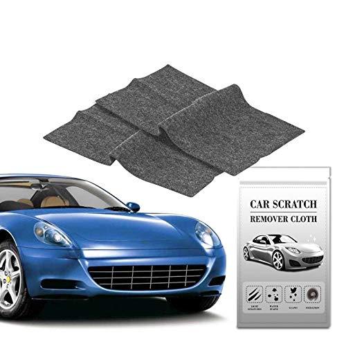 Auto Kratzer Reparatur,Nano Sparkle Tuch für Auto Kratzer Entfernen(2 Stück),Mehrzweck Car Scratch Remover für Reparatur von leichten Kratzfarben,Lackpflege, Detailing, Autoreinigung,Nanotechnologie