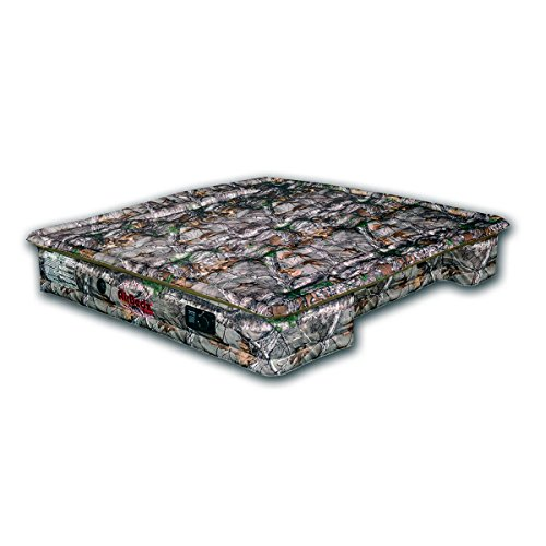 Pittman Outdoors AirBedz PPI 404 Realtree Camo Full Size 5.5'-5.8' Short Bed with Built-in Rechargeable Battery Air Pump and Tailgate Mattress, 1 Pack