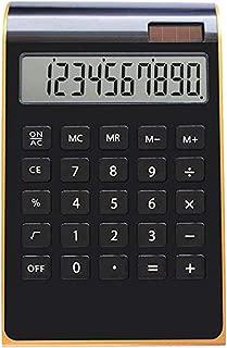 colore casuale NUOBESTY 10cm Righello Mini Digital Calculator 2 in 1 Kids School Office Cancelleria Regali