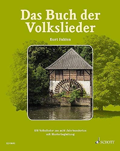 Das Buch der Volkslieder: 176 Volkslieder aus acht Jahrhunderten zum Singen und Musizieren. Gesang und Klavier (Gitarre, Akkordeon ad libitum). Liederbuch.