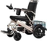 Ligero y simple, silla de ruedas eléctrica para anciano, patineta, trastornos de la pierna, silla de enfermería, plegable, doble motor, amortiguación, aleación de aluminio, silla de viaje para scooter