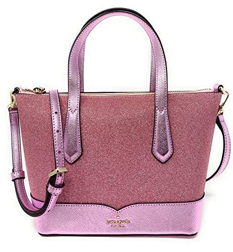 Kate Spade New York Glitter Crossbody Bag, New Rose Pink Glitter