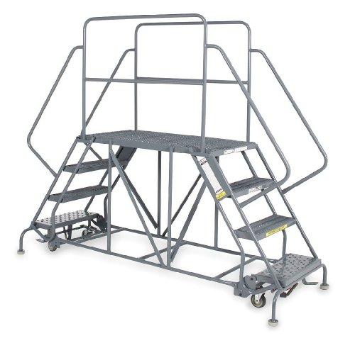 Work Platform, Dual Access, Steel, 60 In H