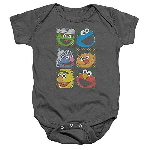 Sesame Street - Barboteuse - Bébé (garçon) - noir - 6 mois