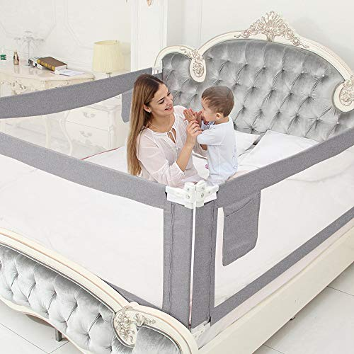 MBQMBSS Bed Rails for Toddlers - 60'70'80'Extra Long Baby...