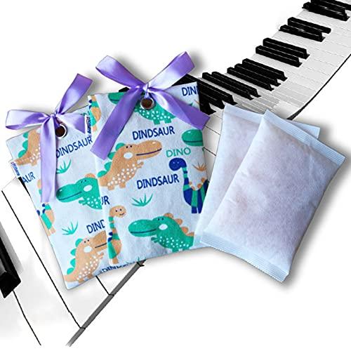 Bolsas De Gel De SíLice Sachets Desecante con Perla de Naranja Indicador de Humedad Paquetes De Gel De Sílice Desecante Deshumidificadores para Pianos de Cola,Pianos Verticales (Regeneración)