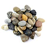 hibuy Piedras decorativas de río, pulidas, 25-40 mm, 1000 g