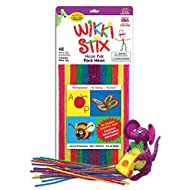 WikkiStix Neon Colors Molding & Sculpting Sticks (English & French Bilingual Packaging) (1804)