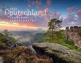 Deutschland - Zauberhafte Landschaften 2020, Wandkalender im Querformat (54x42 cm) - Landschaftskalender / Naturkalender mit Monatskalendarium - Ackermann Kunstverlag