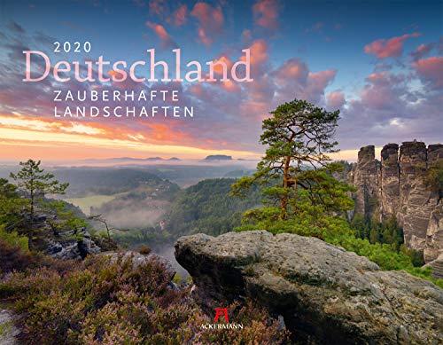 Deutschland - Zauberhafte Landschaften 2020, Wandkalender im Querformat (54x42 cm) - Landschaftskalender / Naturkalender mit Monatskalendarium