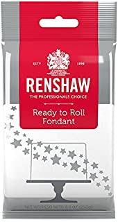 Ready to Roll Fondant Icing White 8.8 Ounces by Renshaw