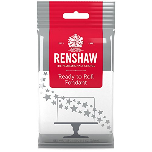 Ready to Super beauty product restock quality top! Roll Fondant Icing White by Renshaw New product 8.8 Ounces