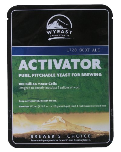 Scottish Ale Activator Wyeast 1728- 4.25 oz.