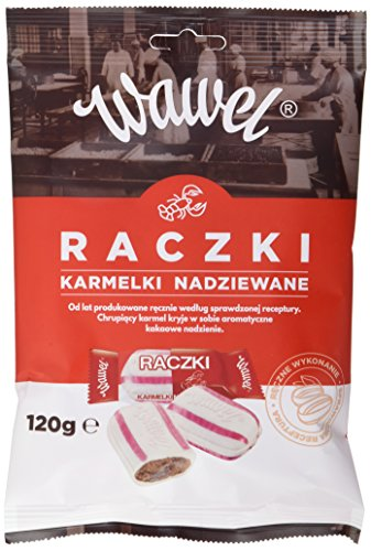Wawel Gefüllte Bonbons - Raczki, 16er Pack (16 x 120 g)