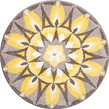 Grund Bath Rug, 100% Polyacryl Supersoft Yellow-Grey, 80 cm