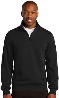 Sport-Tek 1/4-Zip Sweatshirt>4XL Black ST253