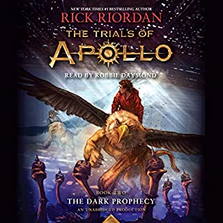 The Dark Prophecy audiobook cover art