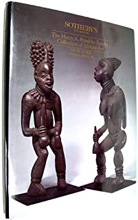 Harry A. Franklin Family Collection of African Art, the (Sotheby's Auction catalog)