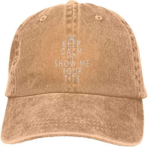QUEMIN Zeig Mir Deine Titten Unisex Cowboyhüte Sport Trucker Caps Baseballcap