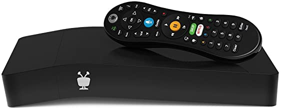 TiVo BOLT VOX 500 GB, DVR & Streaming Media Player, 4K UHD, Now with Voice Control (TCD849500V),Black