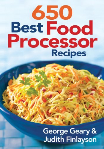 650 Best Food Processor Recipes