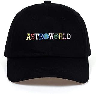 Baseball Cap Travi$ Scott Latest Album Astroworld Dad Hat 100% Cotton Embroidery Astroworld Baseball Caps Unisex Travis Scott
