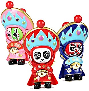 China Traditional Opera Fast mask-Changing Doll Pendant Charm for Phone Backpack