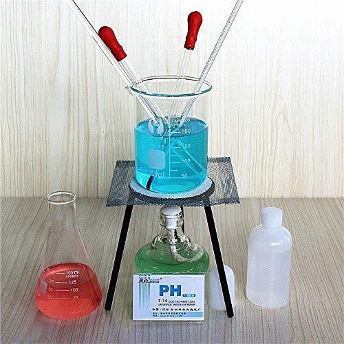Wetenschappelijke experimentele onderwijs benodigdheden Alcohol Lamp Glas Roer Bar Statief Testbuis Laboratorium Apparatuur 0714WM