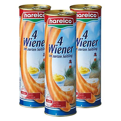 ハライコ(hareico) 缶入りロング ソーセージ 3缶セット 【ドイツ ベルリン おみやげ(お土産) 輸入食品 ソーセージ 】