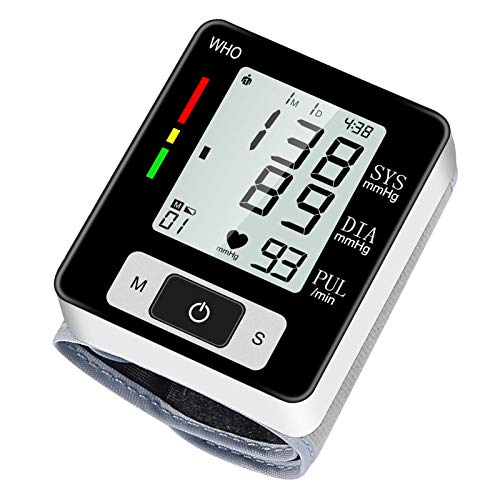 Blood Pressure Monitors, Large LCD Display, Fully Accurate Automatic Digital BP Machine for Home Use Irregular Heartbeat & Hypertension