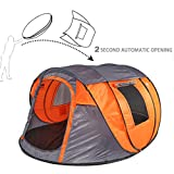Bravindew Pop Up Tent Instant 3 Second Automatic Opening Waterproof Sun Shelter 3-4
