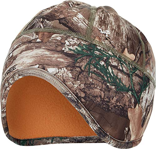 Zeek Outfitter Camo Ear Flap Beanie with Thinsulate (Realtree Edge/Blaze Reversible)