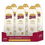 La Toja - Gel de Ducha Leche de Avena - 6Uds de 650 ml (3.900 ml) - Aporta a Tu Piel el Cuidado y la Suavidad Que Necesita - Piel Nutrida y Protegida 4050 G