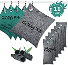 Activates Charcoal Bags- Bamboo Charcoal Bag For Bathroom Shoes Home Car(11Packs)
