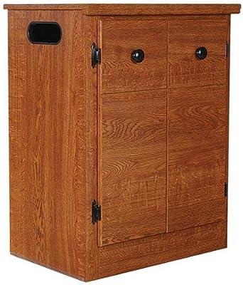 2a6a39b8e88c6 Amazon.com  Baxton Furniture Studios Harlow Mid-Century Wood 1 ...