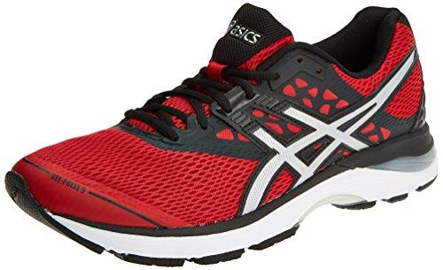 Asics Gel-Pulse 9, Zapatillas de Running para Hombre, Multicolor (Carbon/Silver/Safety Yellow 9793), 46 EU