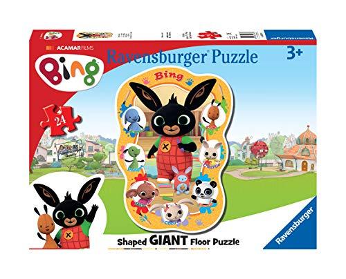 Ravensburger Bing Bunny, grote puzzel voor 24 delen