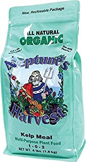Neptune's Harvest Kelp Meal Multi-Purpose Plant Food 1-0-2 4lb - KM604