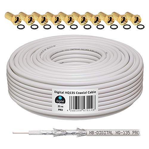 HB Digital   Cable coaxial para DVB S