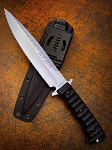 FARDEER Knife Cuchillo de Pesca de Cuchillo de Caza al Aire Libre XD20