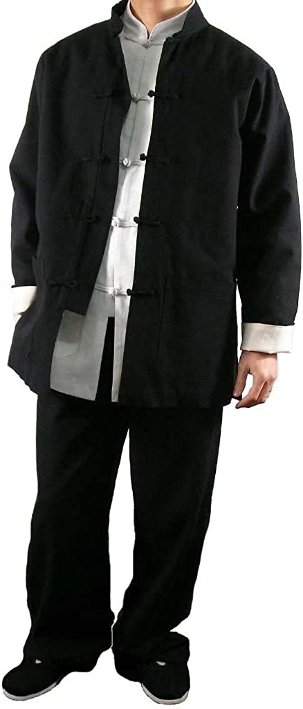 Interact China Fine Linen Kung Fu Martial Arts Taichi Uniform Suit Tailor
