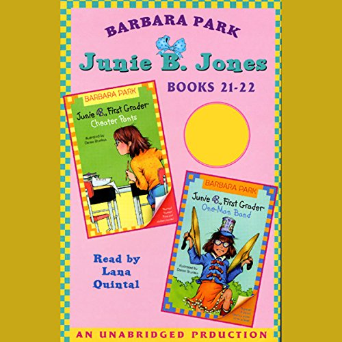 Junie B. Jones Collection audiobook cover art