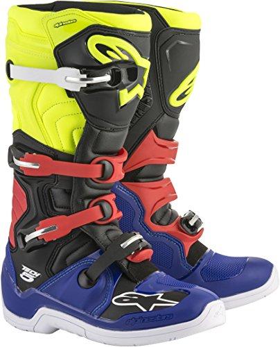 Alpinestars Motocross-Stiefel Tech 5 Blau Gr. 43