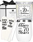 70th Birthday Gifts for Women, 70th Birthday, 70th Birthday Tumbler, 70th Birthday Decorations for Women, Gifts for 70 Year Old Woman, Turning 70 Year Old Birthday Gifts Ideas for Women