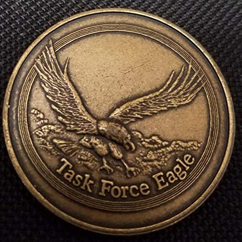 Rare Operation Joint Endeavor Task Force Eagle Delta Force Cag Bosnia Deployment Challenge Coin