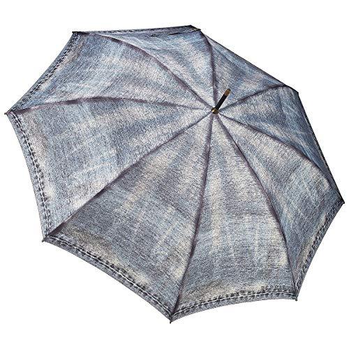 ESPRIT Regenschirme Jeans Long AC Regenschirm jeans