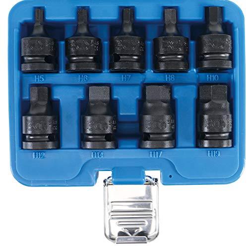 BGS 5485   Kraft-Bit-Einsatz-Satz   12,5 mm (1/2