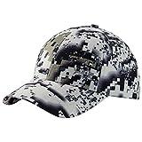 Bassdash Desolve Camo Fishing Hunting Hat Unisex Adjustable Baseball Cap (Zero)
