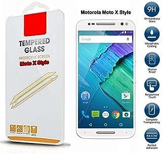 Motorola Moto X Style Protector de pantalla de cristal templado de ...